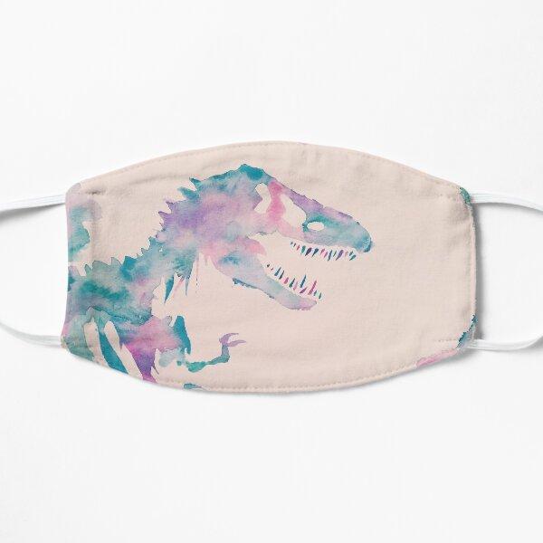 Cool Watercolors Jurassic  Flat Mask