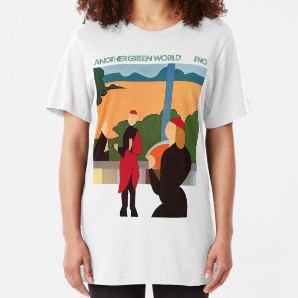 Brian Eno - Otro mundo verde Camiseta ajustada