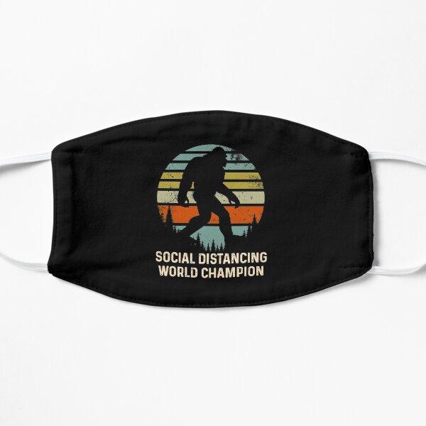 Social Distancing Champion Vintage Sasquatch Bigfoot Mask