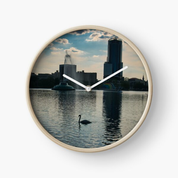 Sunset at the Lake Clock
