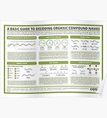 A Guide to Decoding the Names of Organic Molecules Poster