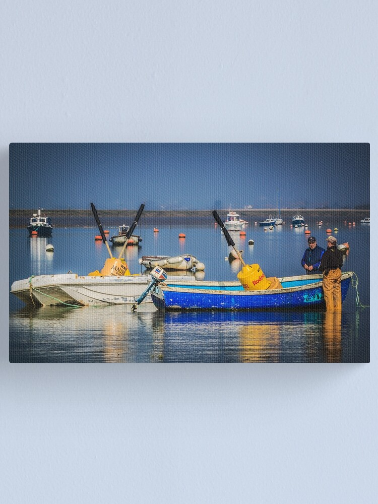 Alternate view of Getting Ready Canvas Print