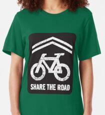 Sharrow the Road - Block Slim Fit T-Shirt