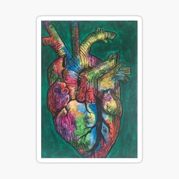 Art From the Heart Sticker