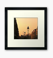 Once upon a Paris  Framed Print