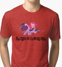 """Say hello to My Little Pony"" Tri-blend T-Shirt"
