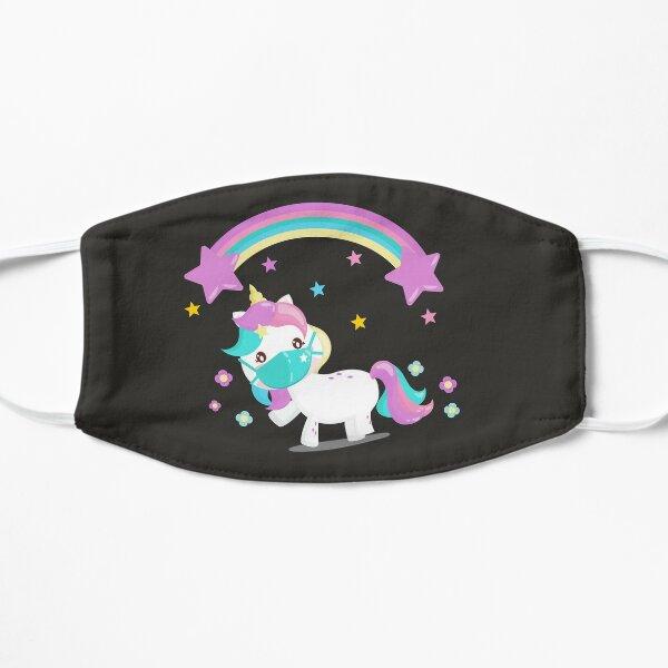 Horse pony / dark gray Flat Mask