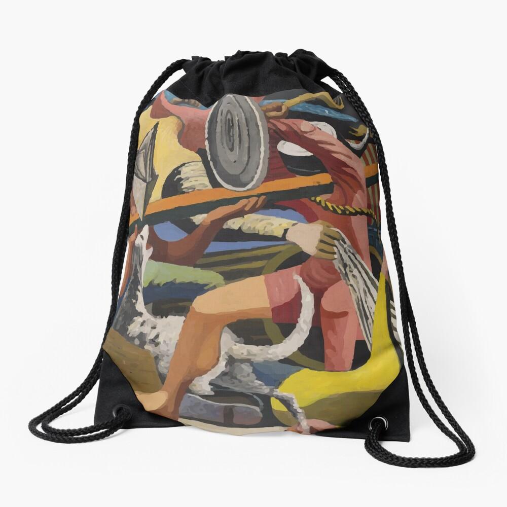 Philip Guston | Gladiators Drawstring Bag