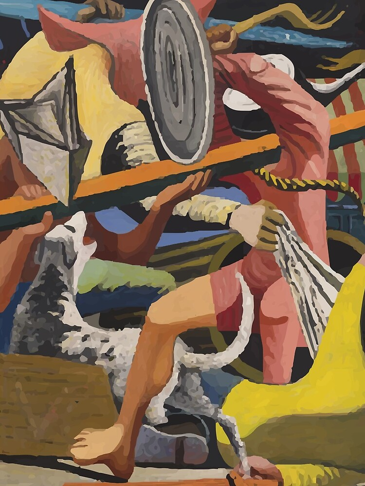 Philip Guston | Gladiators by badguyduh