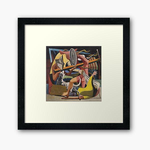Philip Guston   Gladiators Framed Art Print