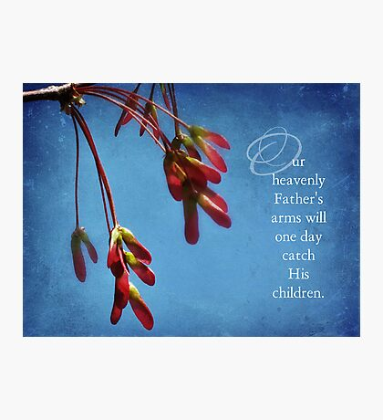 Our heavenly Father Photographic Print