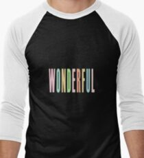 WONDERFUL Men's Baseball ¾ T-Shirt