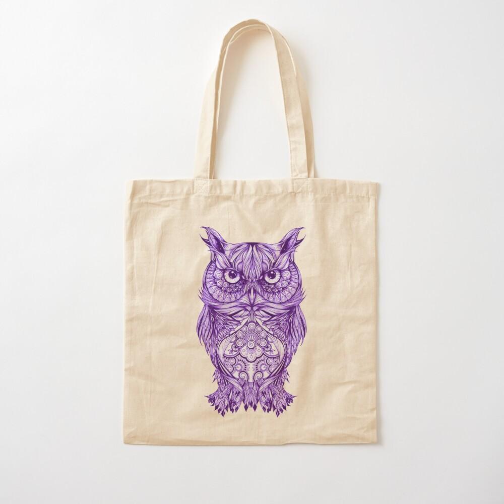 Artistic Owls Tote Bag