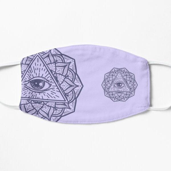 Mandala Seeing Eye Flower Mask dlav/lil Mask