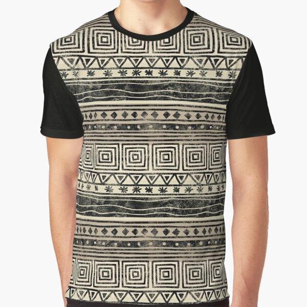 African Geometric Pattern  Graphic T-Shirt