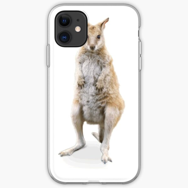 Agile wallaby Lovers t-shirt & stickers iPhone Soft Case
