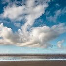 Cloudy Beach at Formby by Robin Whalley