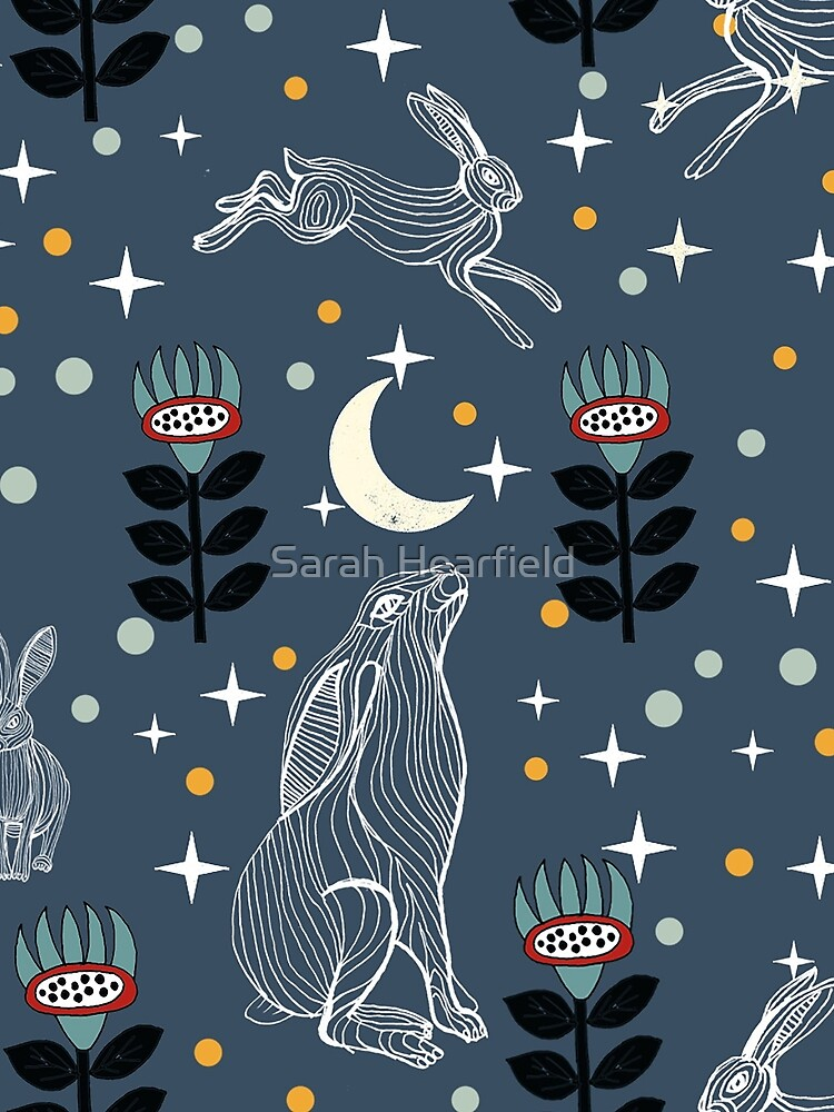 Hare Moon by sarahrozdilski