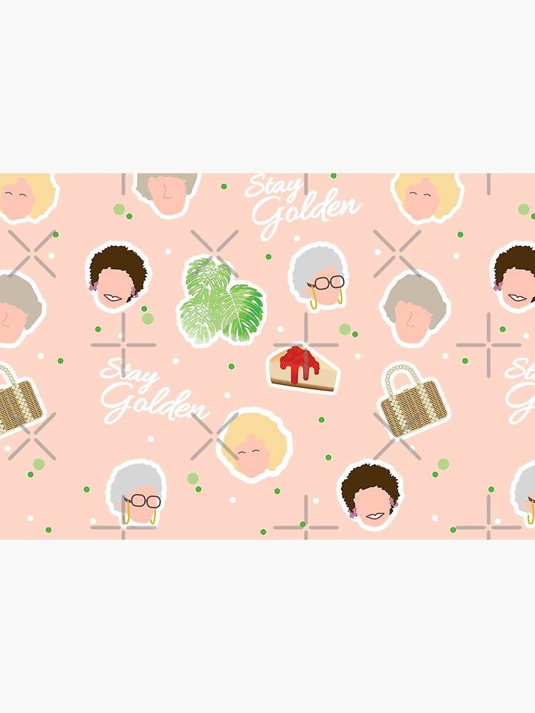 Golden Girls Pattern by EverydayDesign