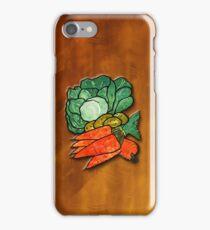 Lettuce, Carrots & Potatoes iPhone Case/Skin