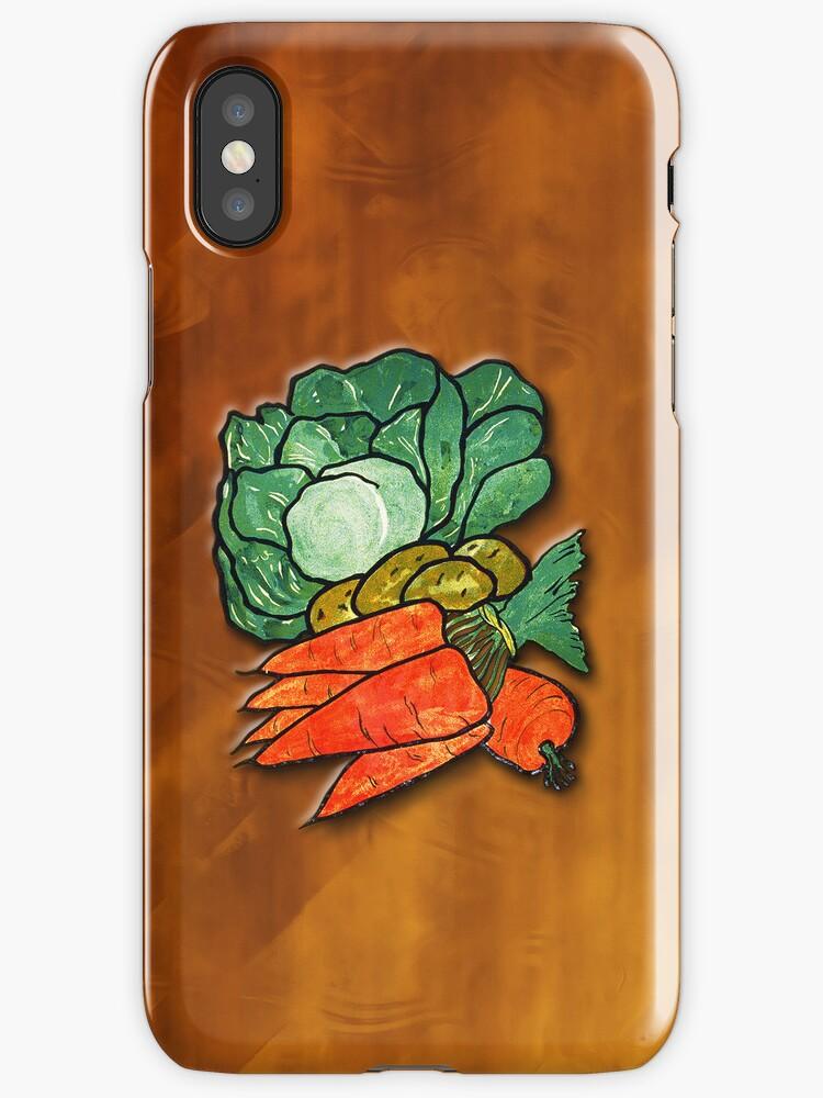 Lettuce, Carrots & Potatoes by Karin  Hildebrand Lau