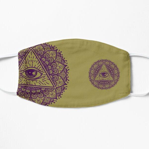 Mandala Seeing Eye Flower Mask rylp/gld Mask