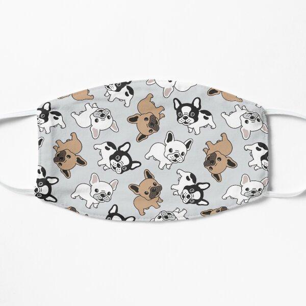 Frenchie French Bulldog Pattern Flat Mask