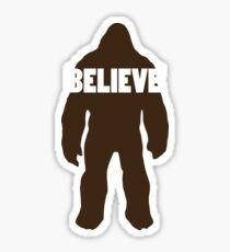 Bigfoot Believe Sticker