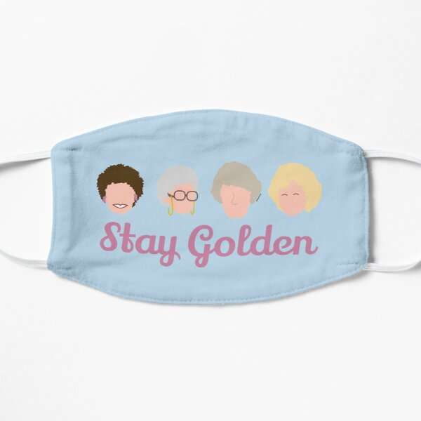 Stay Golden Golden Girls Flat Mask