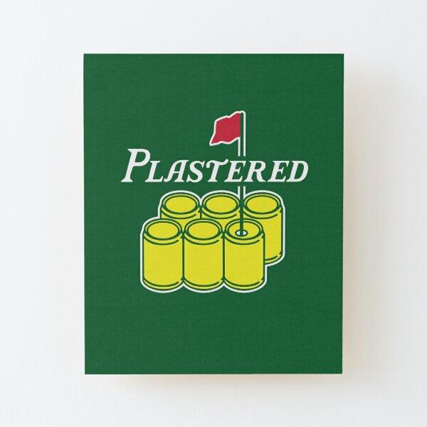 Plastered 2 Wood Mounted Print