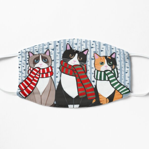The Winter Cats! Mask