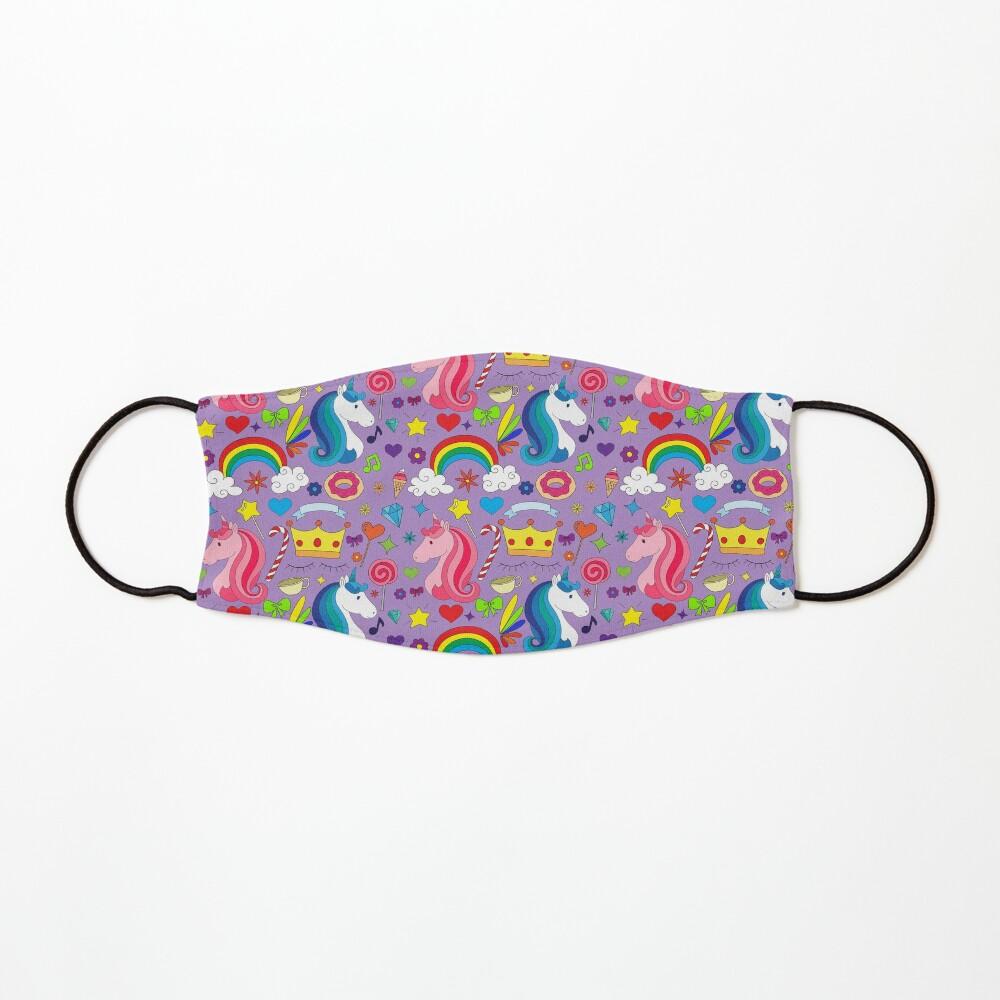 Unicorn Rainbow Candy Mask