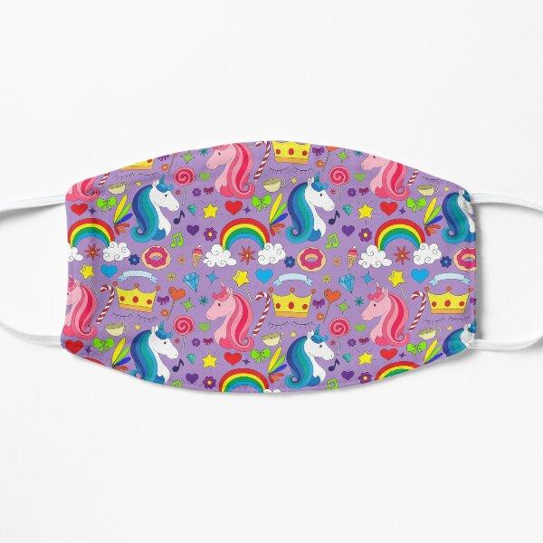 Unicorn Rainbow Candy Flat Mask