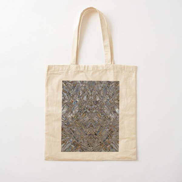 Kaleidoscope #10 Cotton Tote Bag