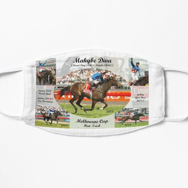Makybe Diva Melbourne Cup Hat Trick Flat Mask