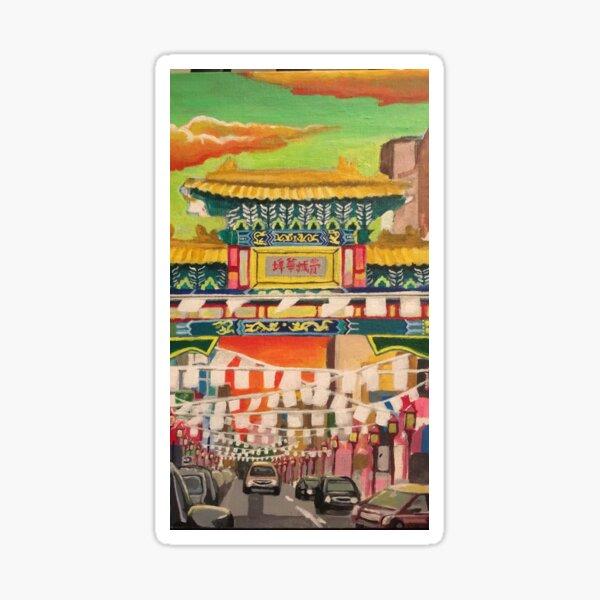 China Town, Philadelphia Sticker