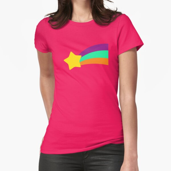 Shooting Star // Mabel Pines Fitted T-Shirt