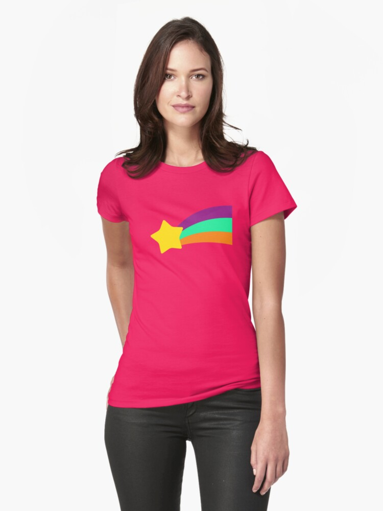 Quot Shooting Star Mabel Pines Quot Womens Fitted T Shirts By