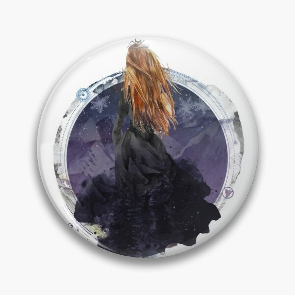 Feyre Archeron - High Lady of the Night Court Pin