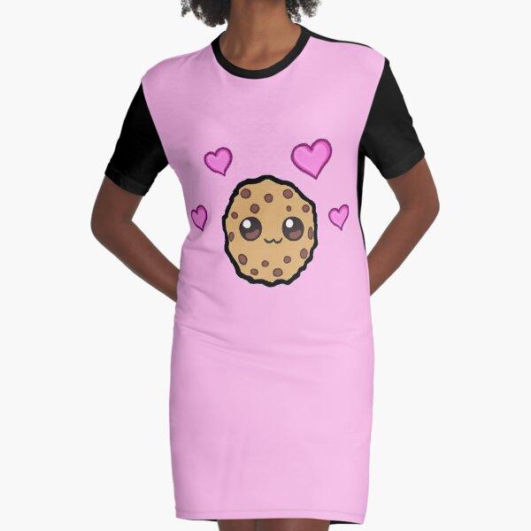 Love hearts Cookie Swirl C Graphic T-Shirt Dress