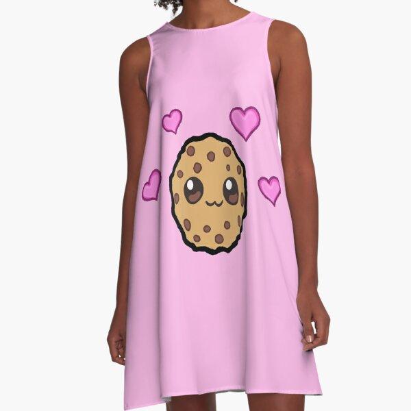 Love hearts Cookie Swirl C A-Line Dress