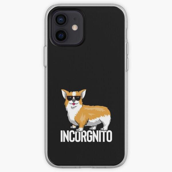 Incorgnito - Incognito Corgi Funda blanda para iPhone