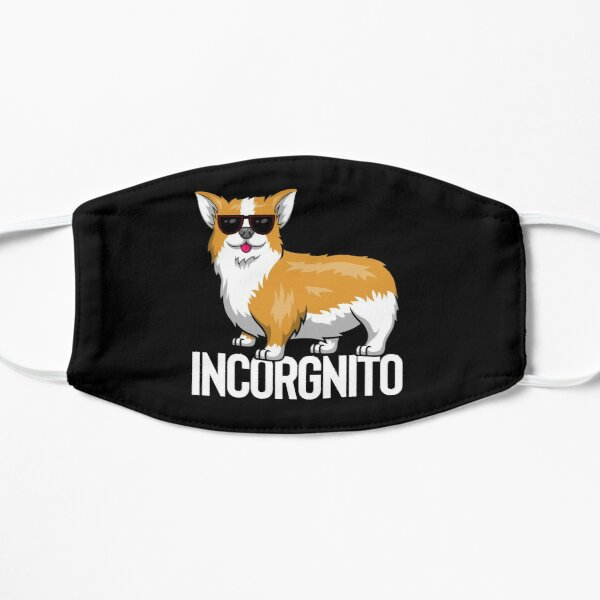 Incorgnito - Corgi de incógnito Mascarilla