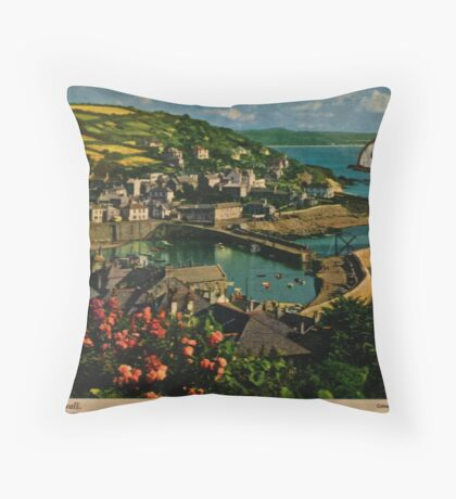whale fish  Throw Pillow