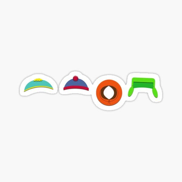 Chapeaux South Park Sticker