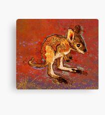 Kangaroo Joey Canvas Print