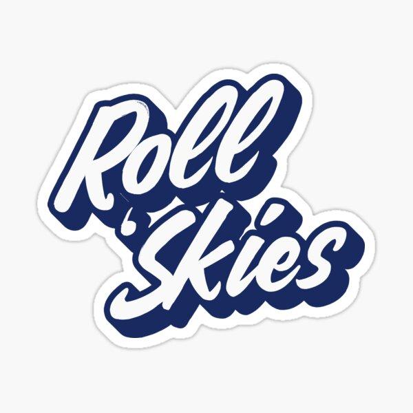 Roll Skies Vintage Sticker