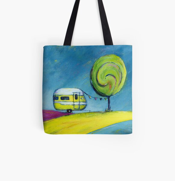 Summer Holiday All Over Print Tote Bag