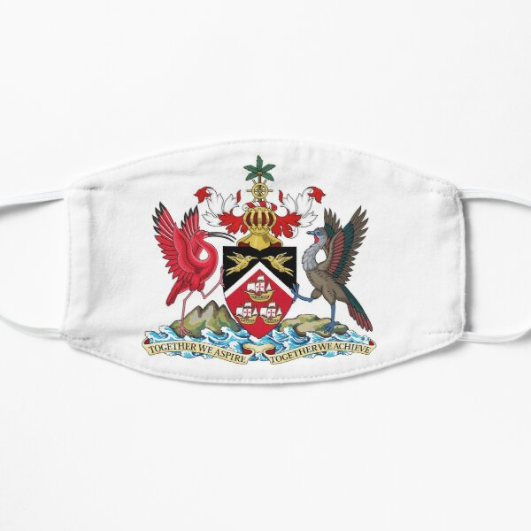 Trinidad and Tobago Coat of arms Mask