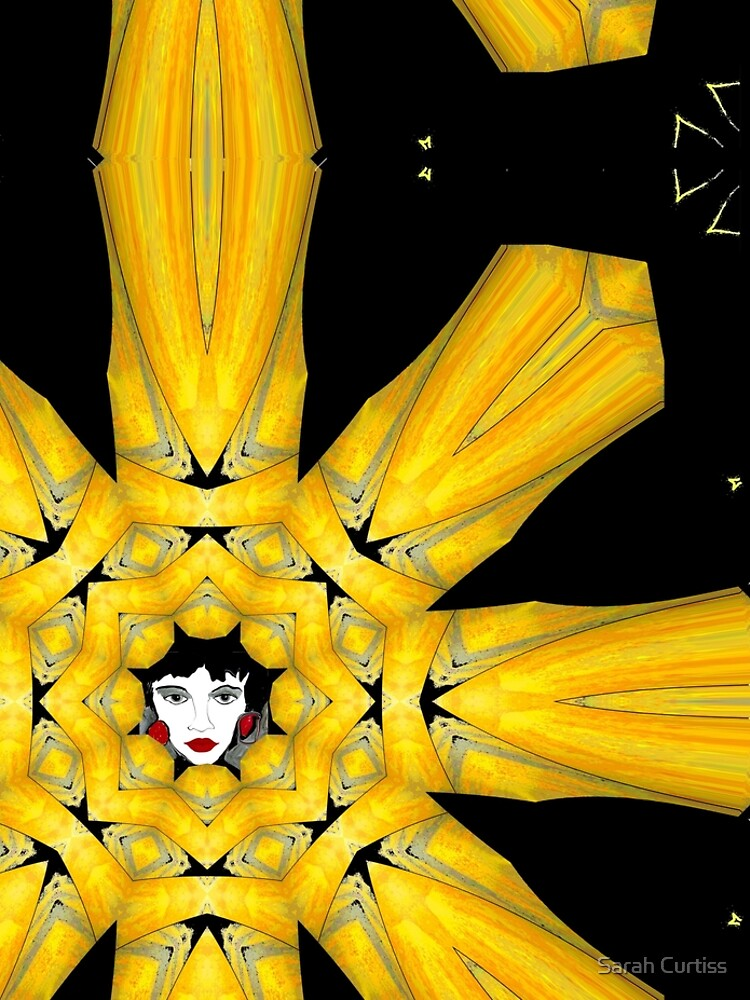 Black Gold Face by GraceArt